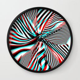 Stereoshift Wall Clock