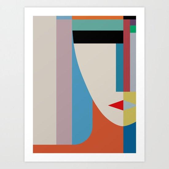 Absolute Face Art Print