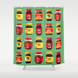 Choose Your Poison Shower Curtain