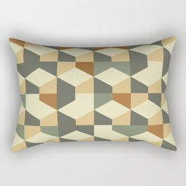 Abstract Geometric Artwork 60 Rectangular Pillow