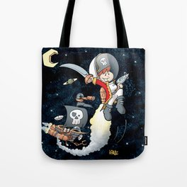 Space Pirate Gilly Tote Bag