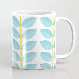 LEAVES blue Coffee Mug