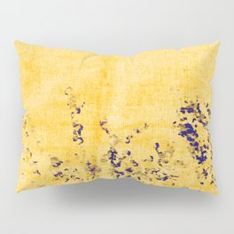 abstract tiny blue flowers Pillow Sham