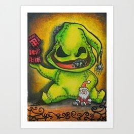Oogie Art Print