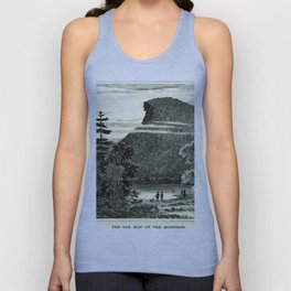 The Old Man of the Mountain Unisex Tank Top