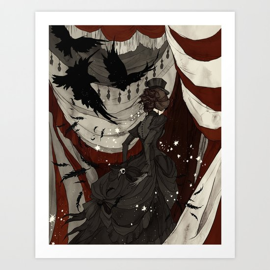 The Night Circus Art Print