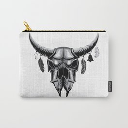 Big bull skull Carry-All Pouch
