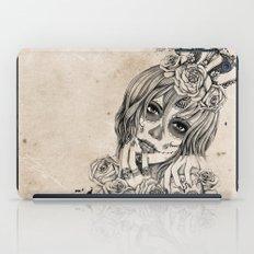 Sugar Skull Queen iPad Case