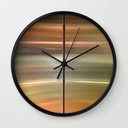 138 Elevator Doors Wall Clock
