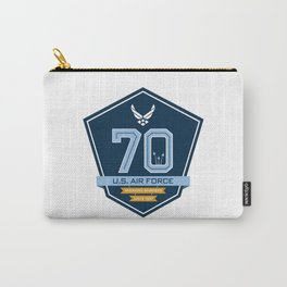 The Official Air Force 70th Anniversary Logo Carry-All Pouch