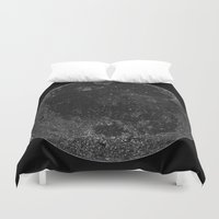 titan Duvet Covers featuring Titan by Tobias Bowman