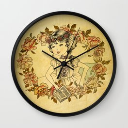 Petite Pompadour Wall Clock