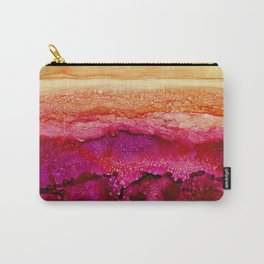 Raspberry Hills, Tangerine Sky Carry-All Pouch