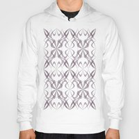 calligraphy Hoodies featuring Calligraphy by David Zydd