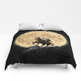 The Legend Of Zelda Full Moon Comforters