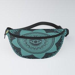 Eye of Protection Mandala Fanny Pack