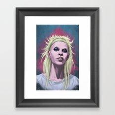 Rich Bitch Framed Art Print