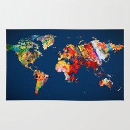 World Map 24 Rug
