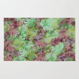 Seamless Pattern of Tropical Leaves II Rug