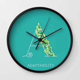 Adaptability Wall Clock