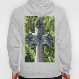 Gothic Style Christian Cross Headstone Old Holy Trinity Church in Wentworth  Hoody