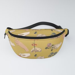 Hands in Art History Fanny Pack