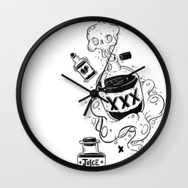 Magic Potions Wall Clock