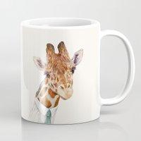 toddler Mugs featuring Mr Giraffe by Animal Crew