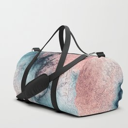 Pink and Blue Oasis Duffle Bag