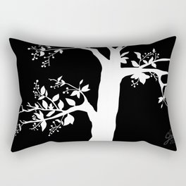 Chokecherry Tree Rectangular Pillow