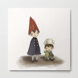 Wirt and Greg  Metal Print