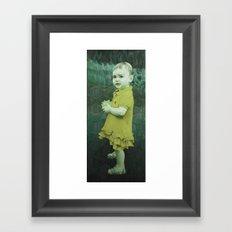 Little Eve (mustard) Framed Art Print