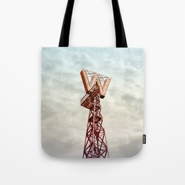 Woodwards in Clouds Tote Bag