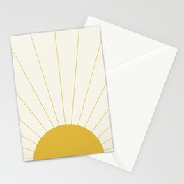 Sunrise / Sunset Minimalism Stationery Cards