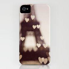City of Love - Paris Slim Case iPhone (4, 4s)