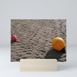 BEACH BUOYS Mini Art Print