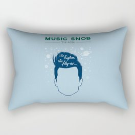 Even HIGHER, Even FLY-er — Music Snob Tip #074.5 Rectangular Pillow
