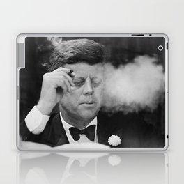 John F Kennedy Smoking Laptop & iPad Skin