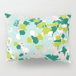 Freestyle Paint Spring Colors Pillow Sham