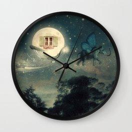 Moon Dream Wall Clock