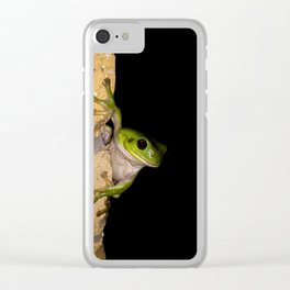 Our little visitor Clear iPhone Case
