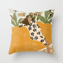 Suburbs Throw Pillow