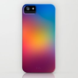 Blur Space IV iPhone Case