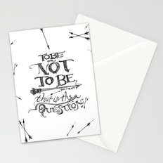 To Be or Not To Be - Hamlet - Shakespeare Stationery Cards