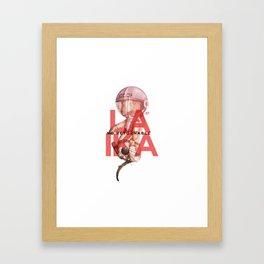 Laika NO Retornable Framed Art Print