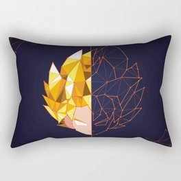 10 | Constellation Goku SSJ | Dragon Ball Rectangular Pillow