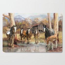High Country Hideaway Cutting Board