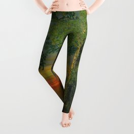 Forest Sunset Leggings