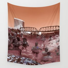 Red River Pool Party Wall Tapestry
