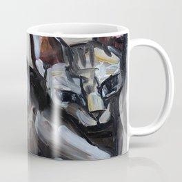 Cat, lying animal Coffee Mug